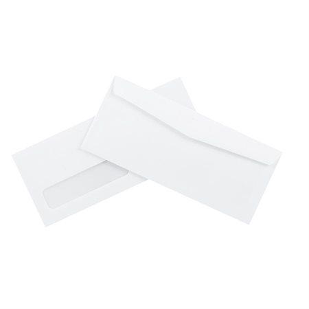 Enveloppe Blanche Standard Avec Fenêtre 10 4 18 X 9 12 Bte 500