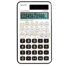 Calculatrice scientifique EL510RTB