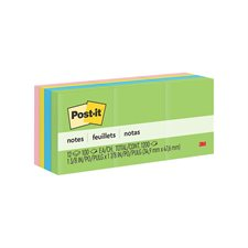 Feuillets autoadhésifs Post-it® Uni 1-1 / 2 x 2 po. (12)